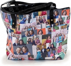View Buying Options For The Portraits of Michelle Obama Tote Bag