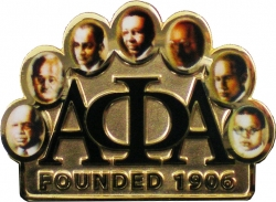 View Buying Options For The Alpha Phi Alpha Founders Faces Lapel Pin