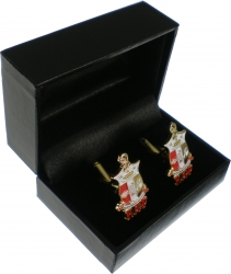 View Buying Options For The Kappa Alpha Psi Shield Drop Letter Mens Cuff Links