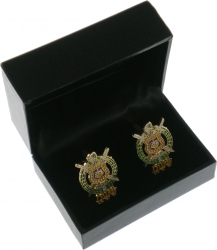 View Buying Options For The Omega Psi Phi Escutcheon Shield Drop Letter Cuff Links