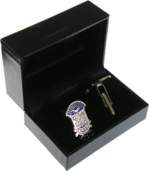 View Buying Options For The Phi Beta Sigma Shield Drop Letter Mens Cuff Links