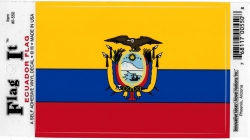 View Buying Options For The Ecuador Flag Car Decal Sticker [Pre-Pack]