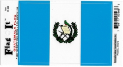 View Buying Options For The Guatemala Flag Car Decal Sticker [Pre-Pack]