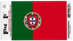 View Buying Options For The Portugal Flag Car Decal Sticker [Pre-Pack]