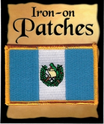 View Buying Options For The Guatemala Flag Iron-On Patch [Pre-Pack]