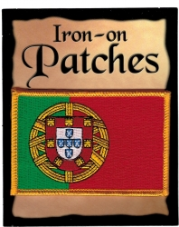 View Buying Options For The Portugal Flag Iron-On Patch [Pre-Pack]