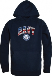 View Buying Options For The RapDom US Navy Flag Letter Graphic Mens Pullover Hoodie