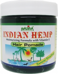 View Buying Options For The Madina Indian Hemp Moisturizing Vitamin E Hair Pomade [Pre-Pack]