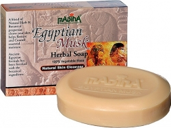 View Buying Options For The Madina Egyptian Musk Natural Skin Cleansing Herbal Soap [Pre-Pack]