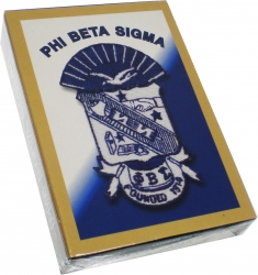 View Buying Options For The Phi Beta Sigma Shield Playing Card Deck