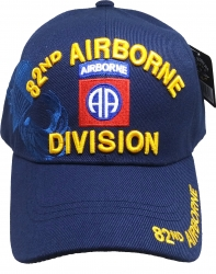 View Buying Options For The 82nd Airborne Division Parachute Wings Shadow Mens Cap