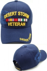 View Buying Options For The Desert Storm Veteran Ribbons Shadow Mens Cap