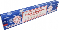 View Buying Options For The Satya Sai Baba Classic Nag Champa Agarbatti Boxed Incense Sticks