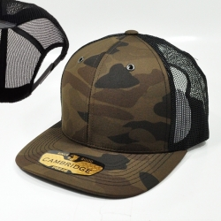 View Buying Options For The Cambridge Plain Camo Mesh Trucker Mens Cap