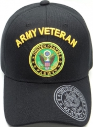 View Buying Options For The Army Veteran Shadow Logo On Bill Mens Cap