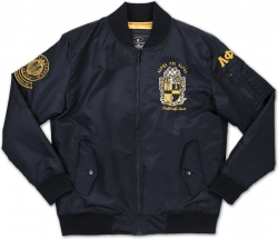 View Buying Options For The Big Boy Alpha Phi Alpha Divine 9 S2 Bomber Flight Mens Jacket