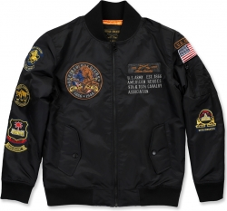 View Buying Options For The Big Boy Buffalo Soldiers S2 Bomber Flight Mens Jacket