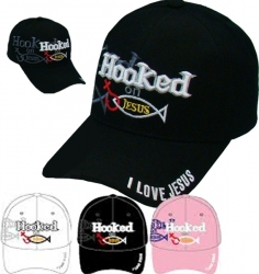 View Buying Options For The Hooked On Jesus Shadow Mens Cap
