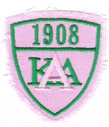 View Buying Options For The Alpha Kappa Alpha Distressed Denim Shield Iron-On Patch