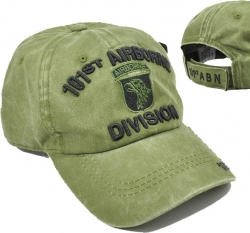 View Buying Options For The 101st Airborne Division Tonal Pigment Washed Cotton Mens Cap