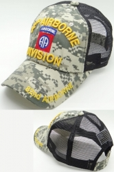 View Buying Options For The 82nd Airborne Division Cotton Trucker Mens Meshback Cap