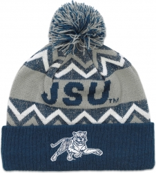 View Buying Options For The Big Boy Jackson State Tigers S10 Mens Cuff Beanie Cap with Ball