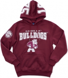 View Buying Options For The Big Boy Alabama A&M Bulldogs S4 Mens Pullover Hoodie