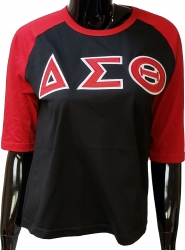 View Buying Options For The Buffalo Dallas Delta Sigma Theta Applique Ladies Baseball Tee