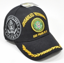 View Buying Options For The Disabled Army Veteran and Proud of It Shadow Mens Cap