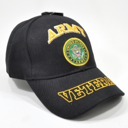 View Buying Options For The Army Veteran Text On Bill Mens Cap