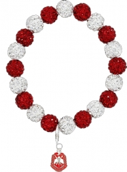 View Buying Options For The Delta Sigma Theta Crest Stone Bead Bracelet