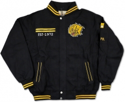 View Buying Options For The Big Boy Arkansas at Pine Bluff Golden Lions S5 Mens Racing Twill Jacket