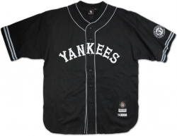 View Buying Options For The Big Boy New York Black Yankees Replica Mens Baseball Jersey