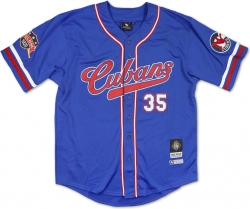 View Buying Options For The Big Boy New York Cubans Latin Legacy S2 Mens Baseball Jersey