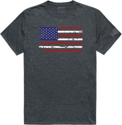 View Buying Options For The RapDom US Flag Tactical Graphics Mens Tee