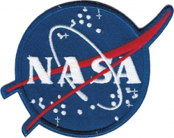 View Buying Options For The NASA J.H.G. Logo Iron-On Patch