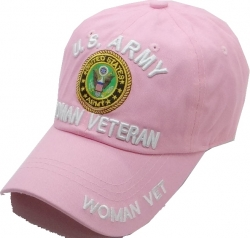 View Buying Options For The U.S. Army Woman Veteran Cotton Ladies Cap