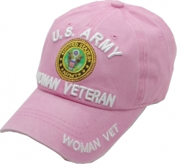 View Buying Options For The U.S. Army Woman Veteran Washed Cotton Mens Cap