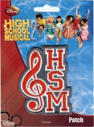 View Buying Options For The High School Musical HSM Note Embroidered Iron-On Patch