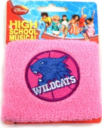 View Buying Options For The High School Musical Wildcats Basketball Logo Wristband [Pre-Pack]
