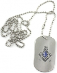 View Buying Options For The Mason Double Sided Dog Tag