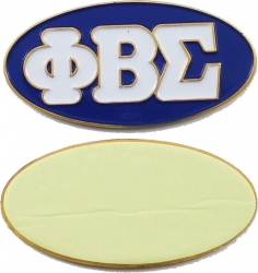 View Buying Options For The Phi Beta Sigma Oval Car Badge