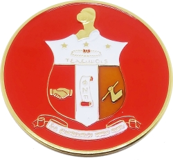View Buying Options For The Kappa Alpha Psi Shield Round Car Badge