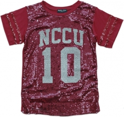 View Buying Options For The Big Boy North Carolina Central Eagles S2 Ladies Sequins Tee