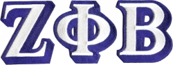 View Buying Options For The Zeta Phi Beta Iron-On Patch Set