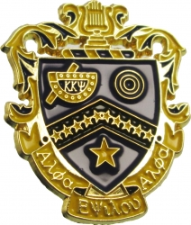 View Buying Options For The Kappa Kappa Psi Shield Lapel Pin