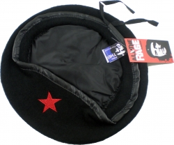 View Buying Options For The Che Guevara Red Star Military Mens Beret Cap
