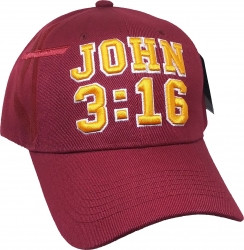 View Buying Options For The John 3:16 I Love Jesus Shadow Mens Cap