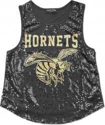View Buying Options For The Big Boy Alabama State Hornets S2 Ladies Sequins Tank Top