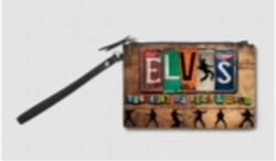 View Buying Options For The Elvis Presley Vintage Logo Coin Purse
